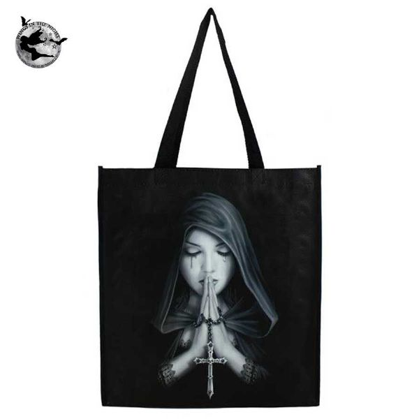 ANNE STOKES Gothic Prayer Shopping Bag